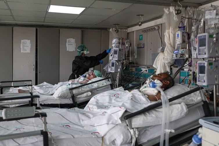 immune response coronavirus covid19 health hospital medicine doctor patient pandemic cytokine inflamation