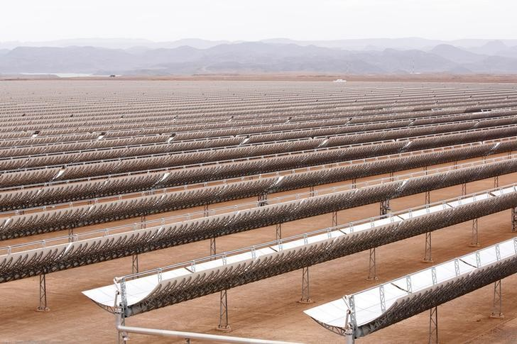 A thermosolar power plant is pictured at Noor II near the city of Ouarzazate, Morocco, November 4, 2016. Picture taken  November 4, 2016.