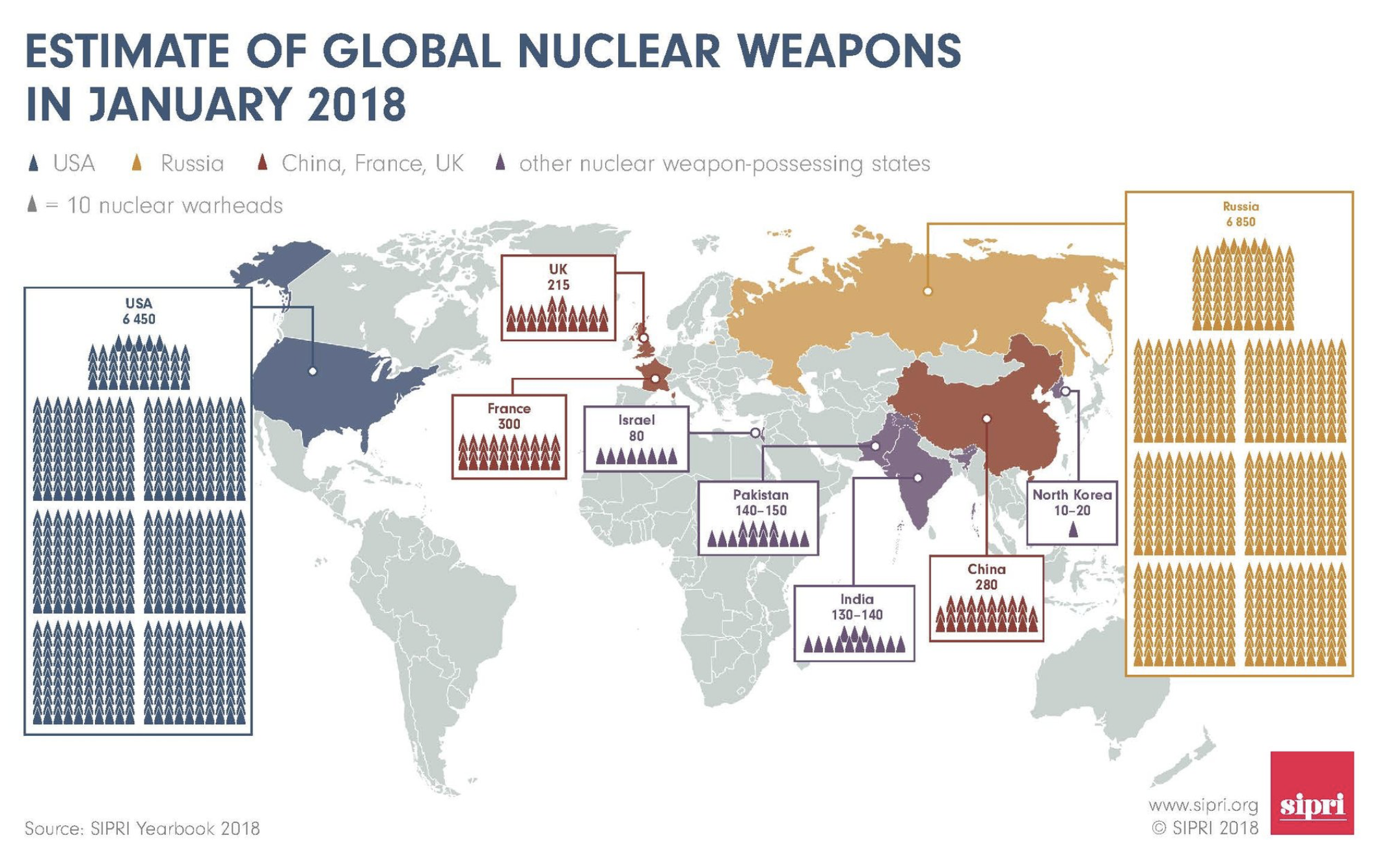 The state of the world's nuclear arsenal in 3 charts | World