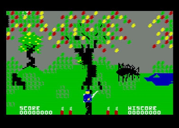 Cosmi Corporation's Forbidden Forest (1983) was an early attempt at designing natural environments.