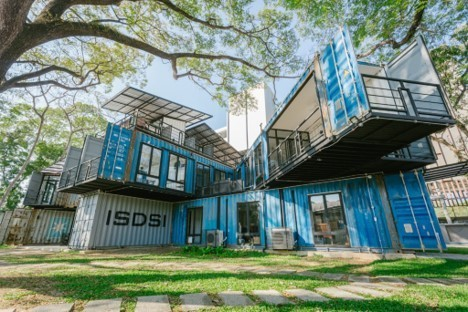 This Thai University Used  Shipping Containers To Build