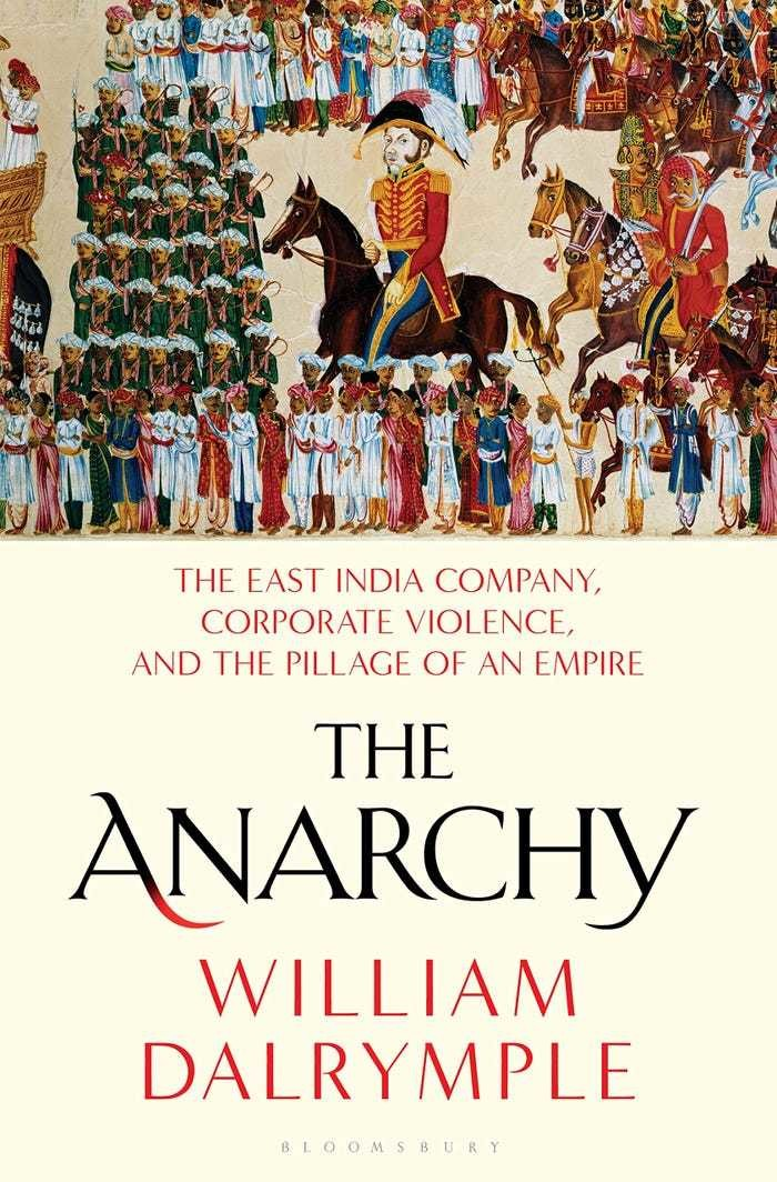 The Anarchy East India Company William Dalrymple Barack Obama