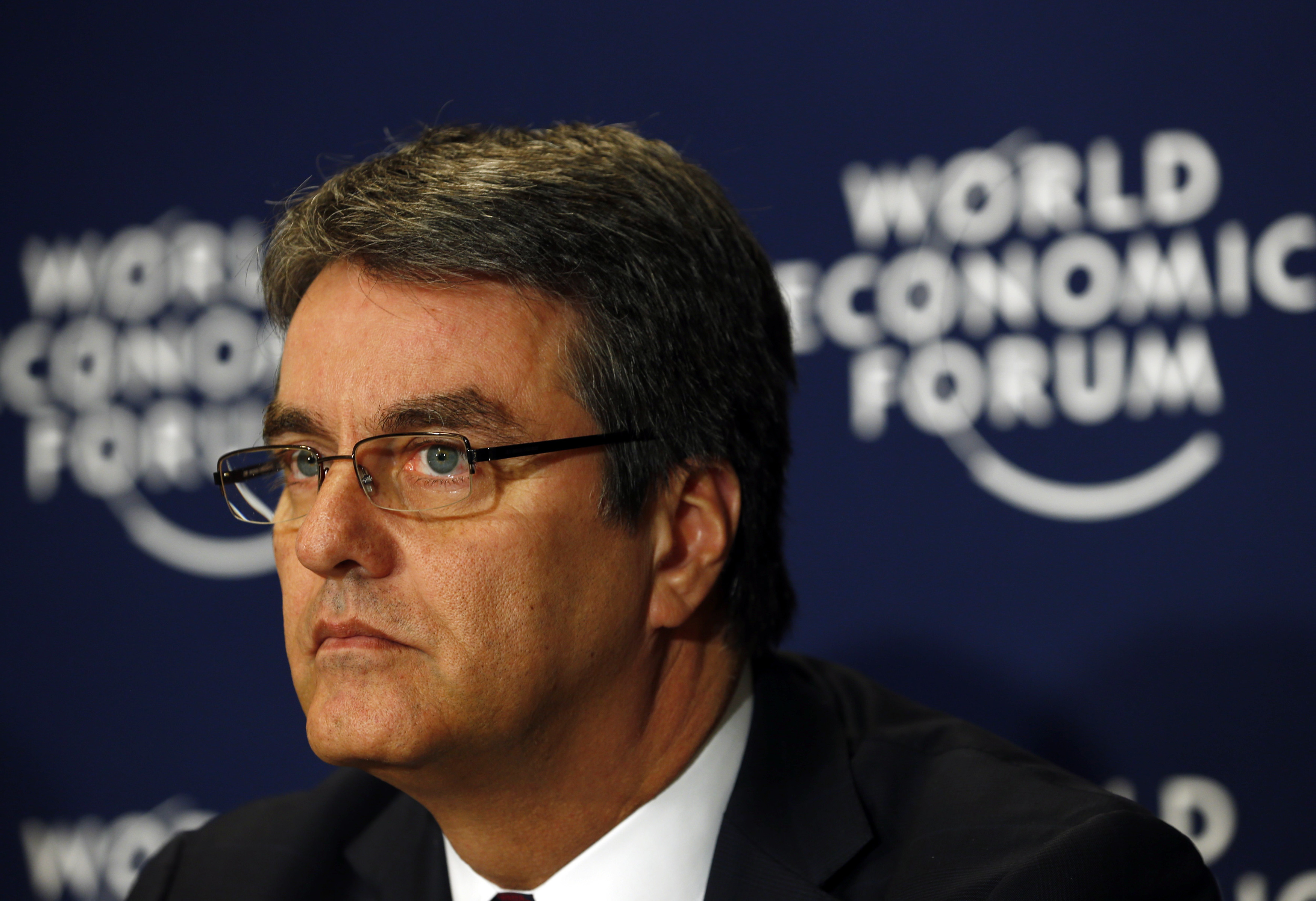 World Trade Organization (WTO) Director-General Roberto Azevedo attends a session at the World Economic Forum (WEF) in Davos January 25, 2014. REUTERS/Denis Balibouse (SWITZERLAND  - Tags: POLITICS BUSINESS)   - RTX17TXA