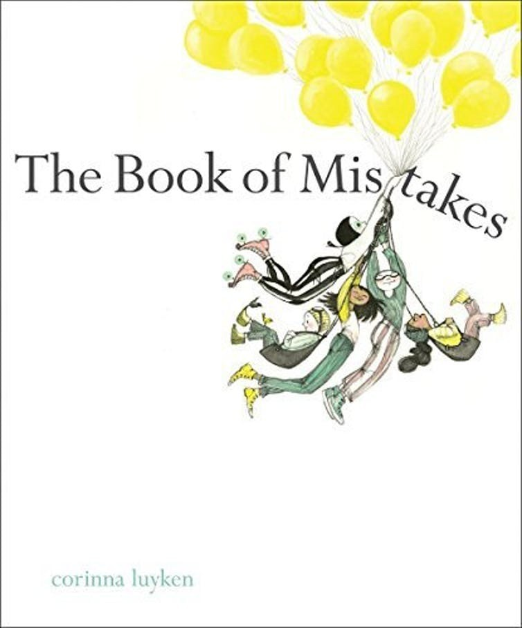 book of mistakes corinna luyken dial books literature book young people picture read
