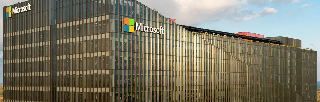 Microsoft의 새로운 캠퍼스 외관
