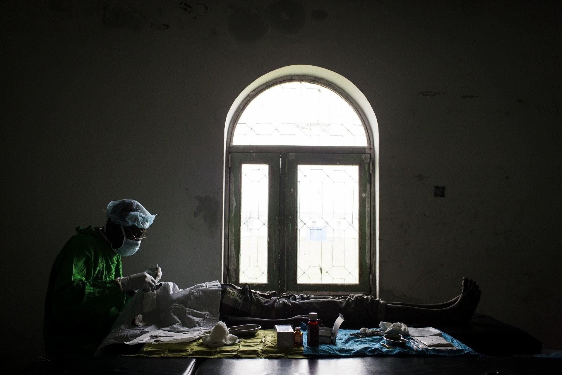 Nasir, Upper Nile, South Sudan trachoma sanitation hygiene blind sight vision impaired