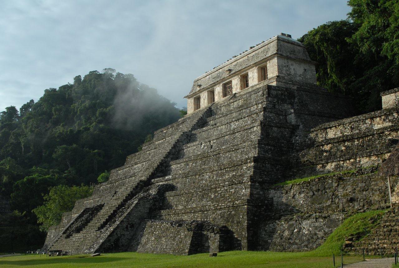 Temple maya.