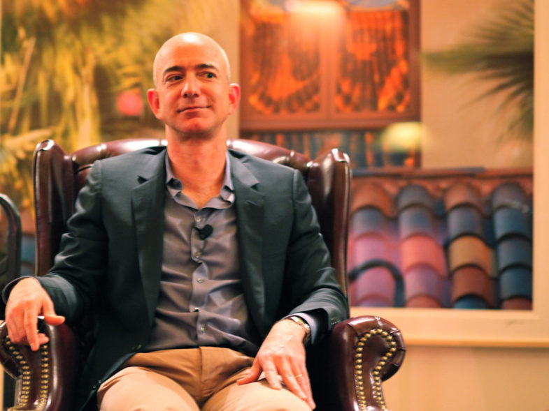 Jeff Bezos, fondateur d'Amazon.