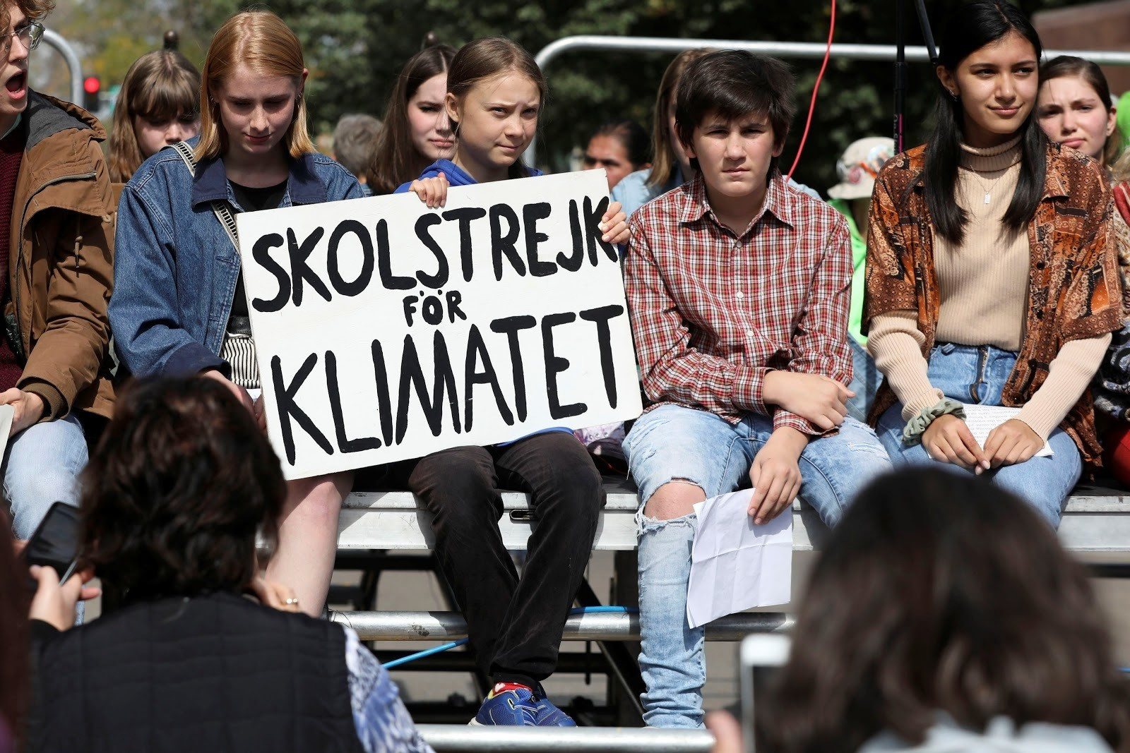 Greta Thunberg's climate strikes inspired action in cities around the world.