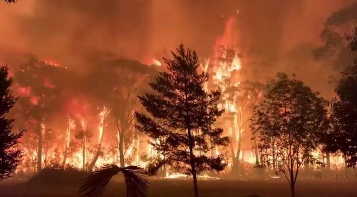 Bushfire Australia CO2 climate