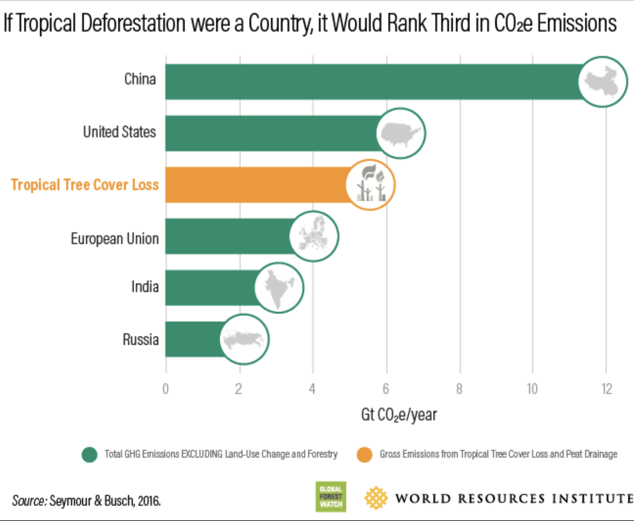 Halting deforestation would go a long way towards meeting the Paris climate goals