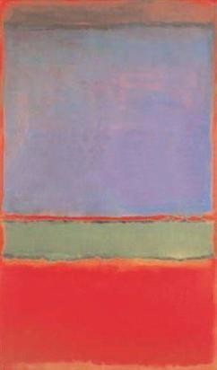 Rothko's block colours works were painted in his late period, from 1946 onwards