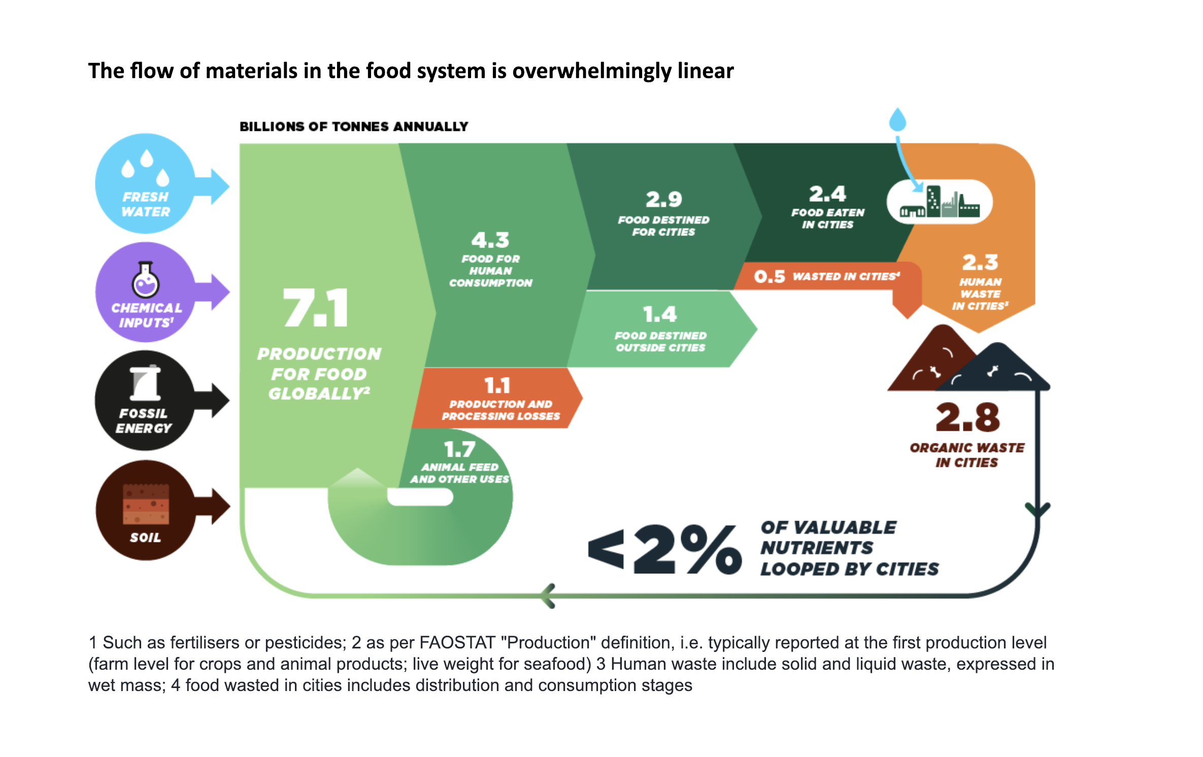 Only 2% of the nutritional value in our food is recycled