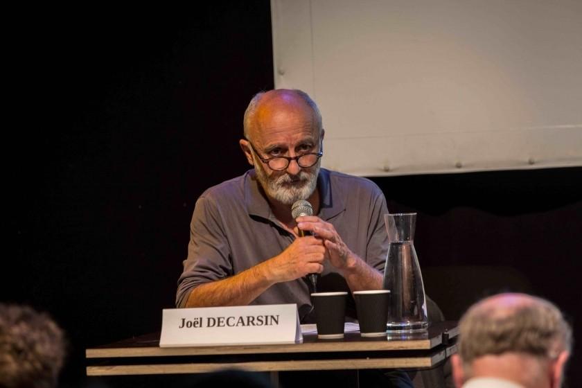 Joël Decarsin, le 29 mai, lors de la table ronde organisée par le site Sciences Critiques