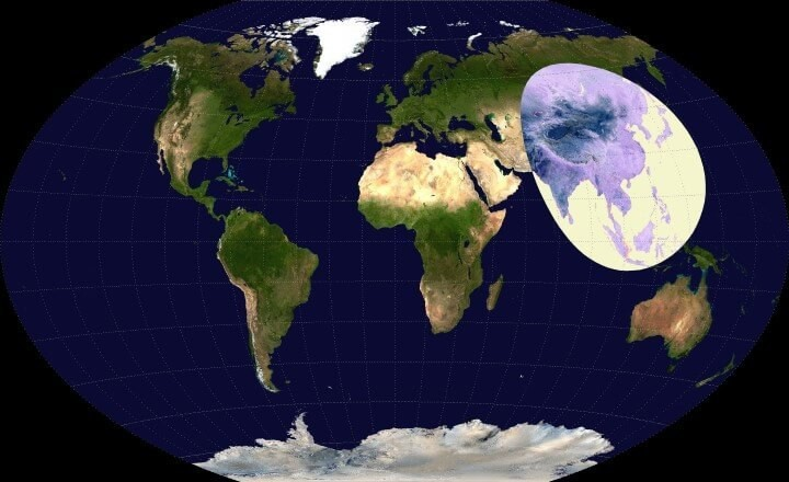 weforum.org - More people live inside this circle than outside of it - and other demographic data you should know