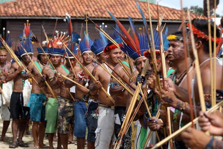 En 2009, les populations natives de différentes tribus s'étaient réunies à Bélem, au cœur de l'Amazonie brésilienne, pour alerter sur la déforestation.