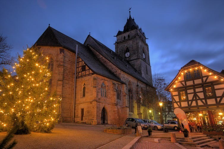 Wolfhagen at Christmas
