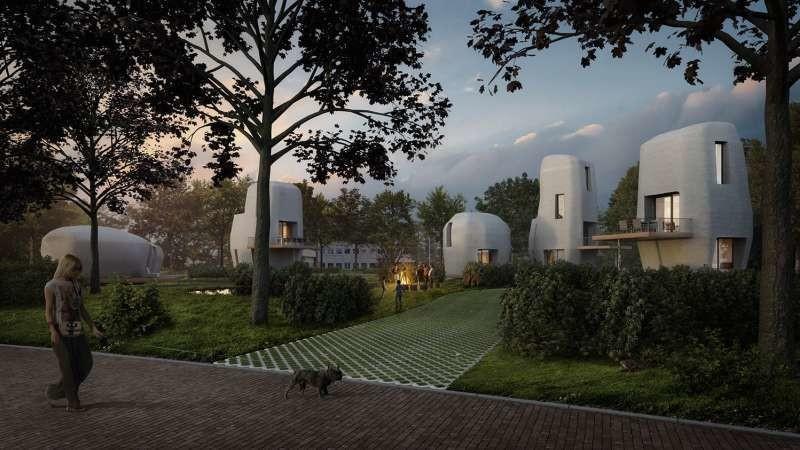 Cinq maisons imprimées en 3D seront disponibles à la vente dès 2019. La première a reçu plus de 20 candidatures en une semaine.