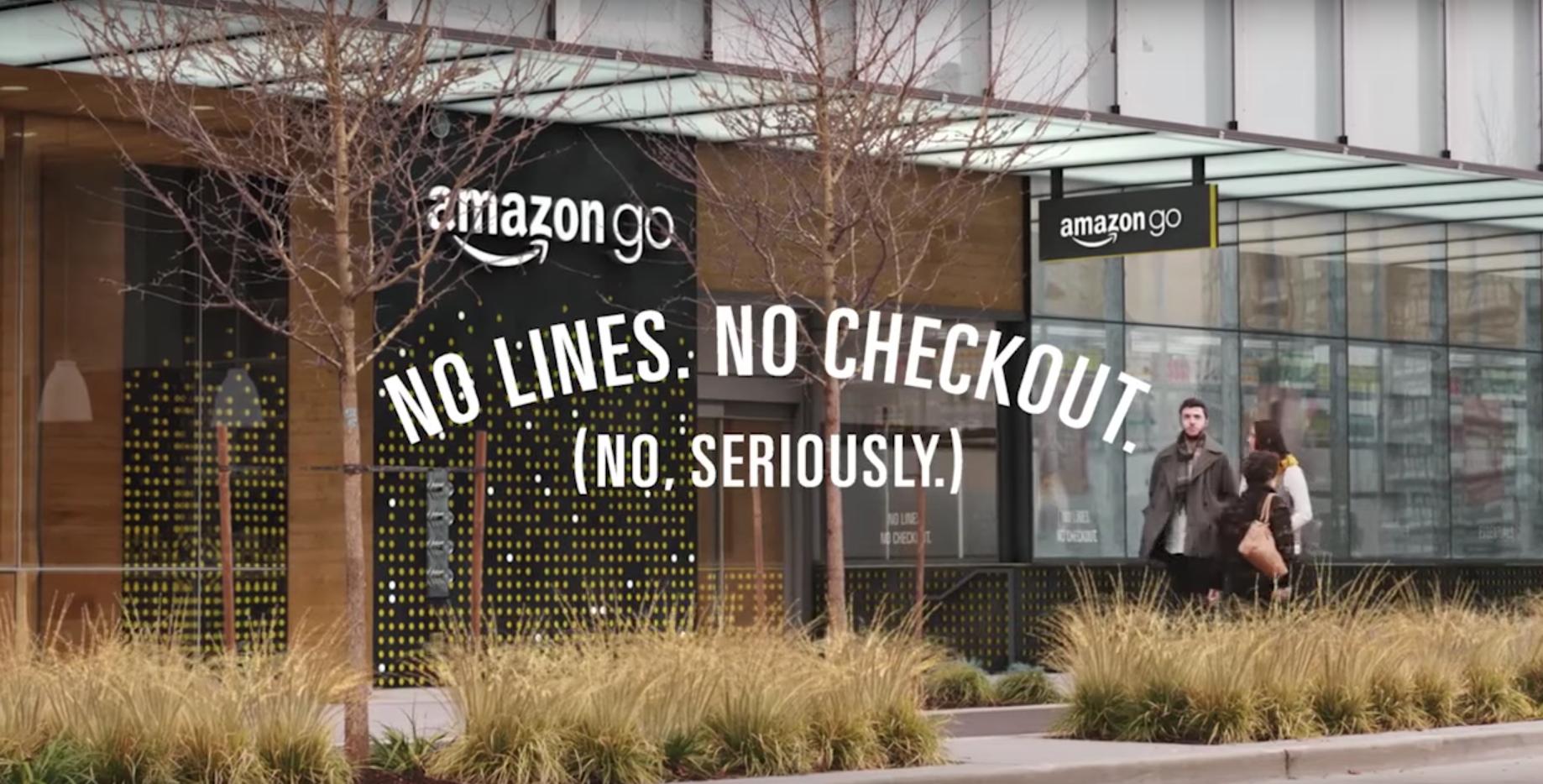 The new Amazon Go store.