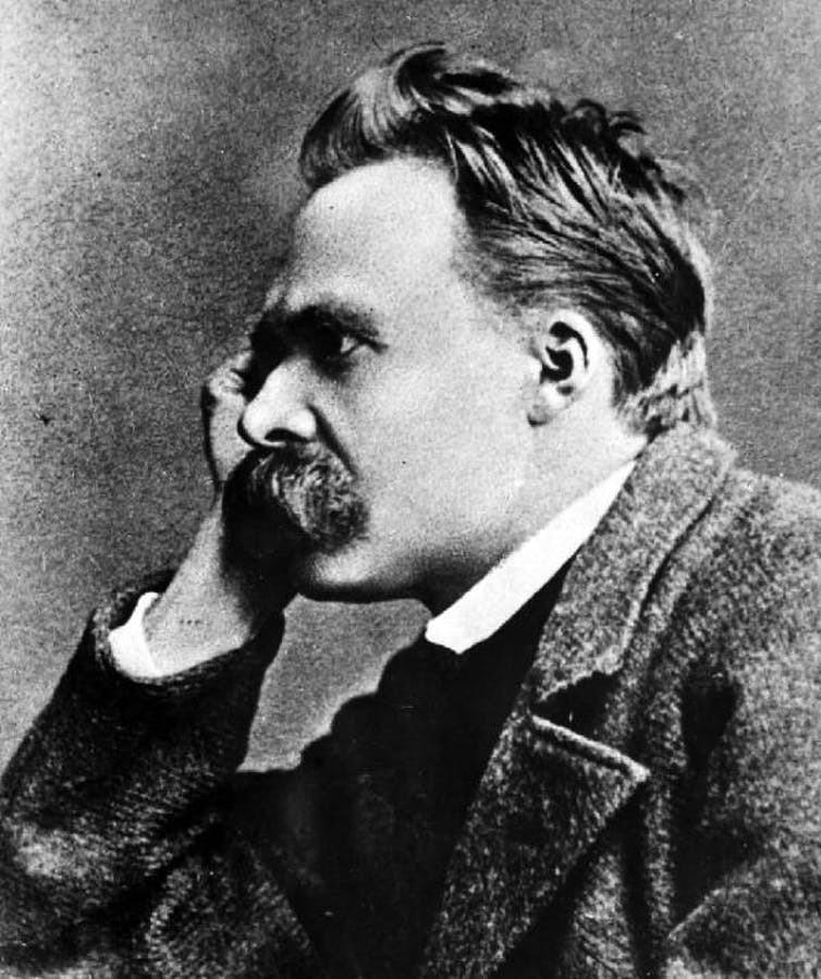 Friedrich Nietzsche: 'God is dead'.