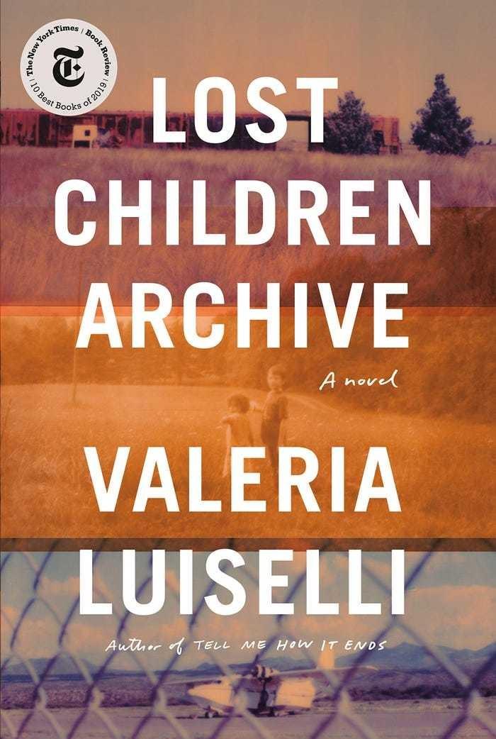 'Lost Children Archive' by Valeria Luiselli literature barack obama novel reading