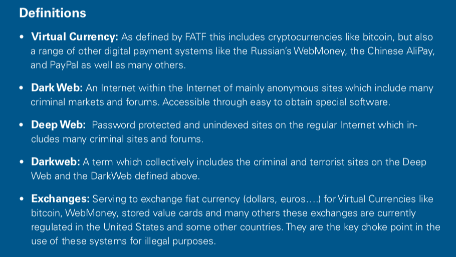 how does cryptocurrency affect the dark web