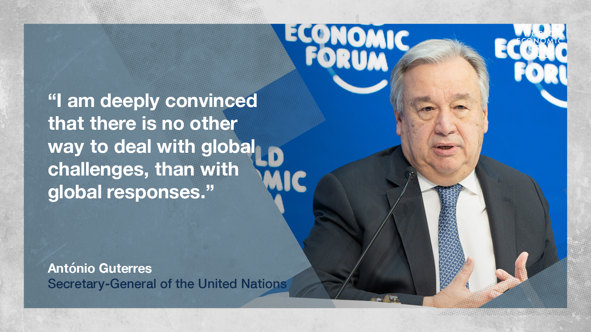 antonio guterres the un secretary general s davos speech in