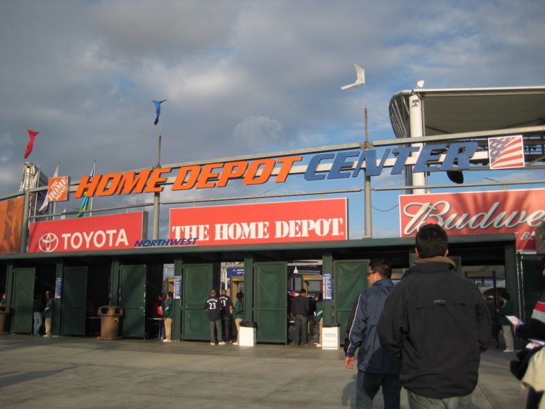 The Home Depot Center, Los Angeles, Etat-Unis.