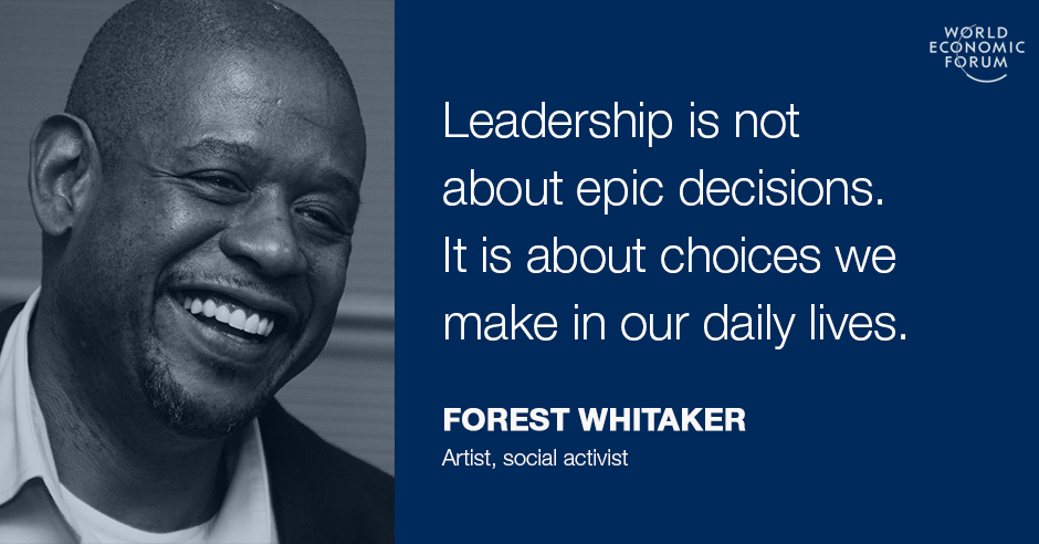 Forest Whitaker: What I've learned about responsible