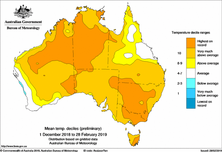 Map Of Australia 26th Parallel.Last Summer Was Australia S Hottest On Record Here S What This