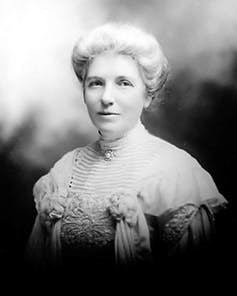 Social reformer and suffragist Kate Sheppard, around 1905.