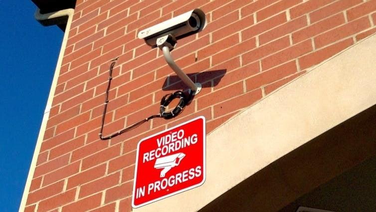 Surveillance video.
