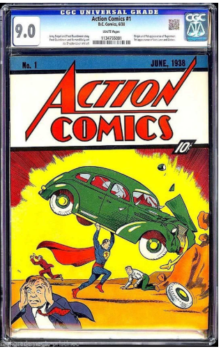 First Superman comic