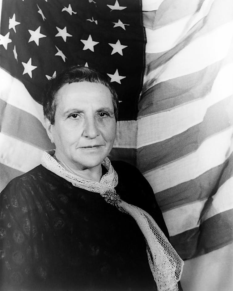 Gertrude Stein – who would go on to mentor Hemingway – was close friends with La Motte.