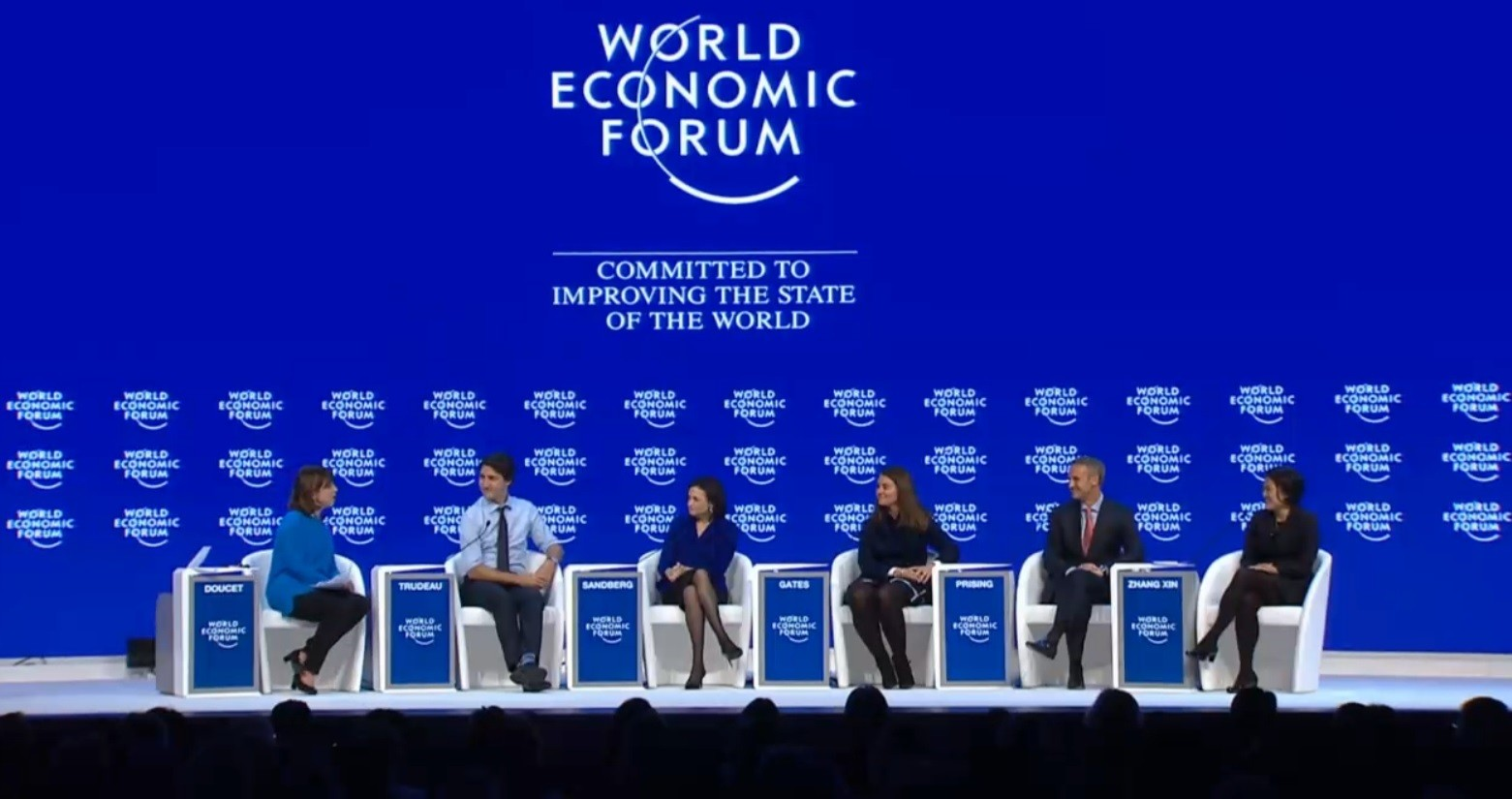 davos the world economic forum essay In 2017, the world economic forum in davos attracted considerable attention when for the first time, a head of state from the people's republic of china was present at the alpine resort.