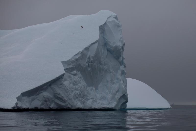 An iceberg floats near Two Hummock Island, Antarctica, February 2, 2020. Picture taken February 2, 2020. REUTERS/Ueslei Marcelino - RC25ZE9T0QTL
