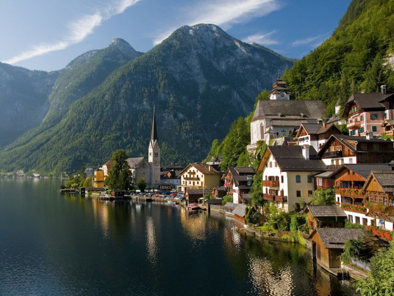 Autriche, région de Salzkammergut.