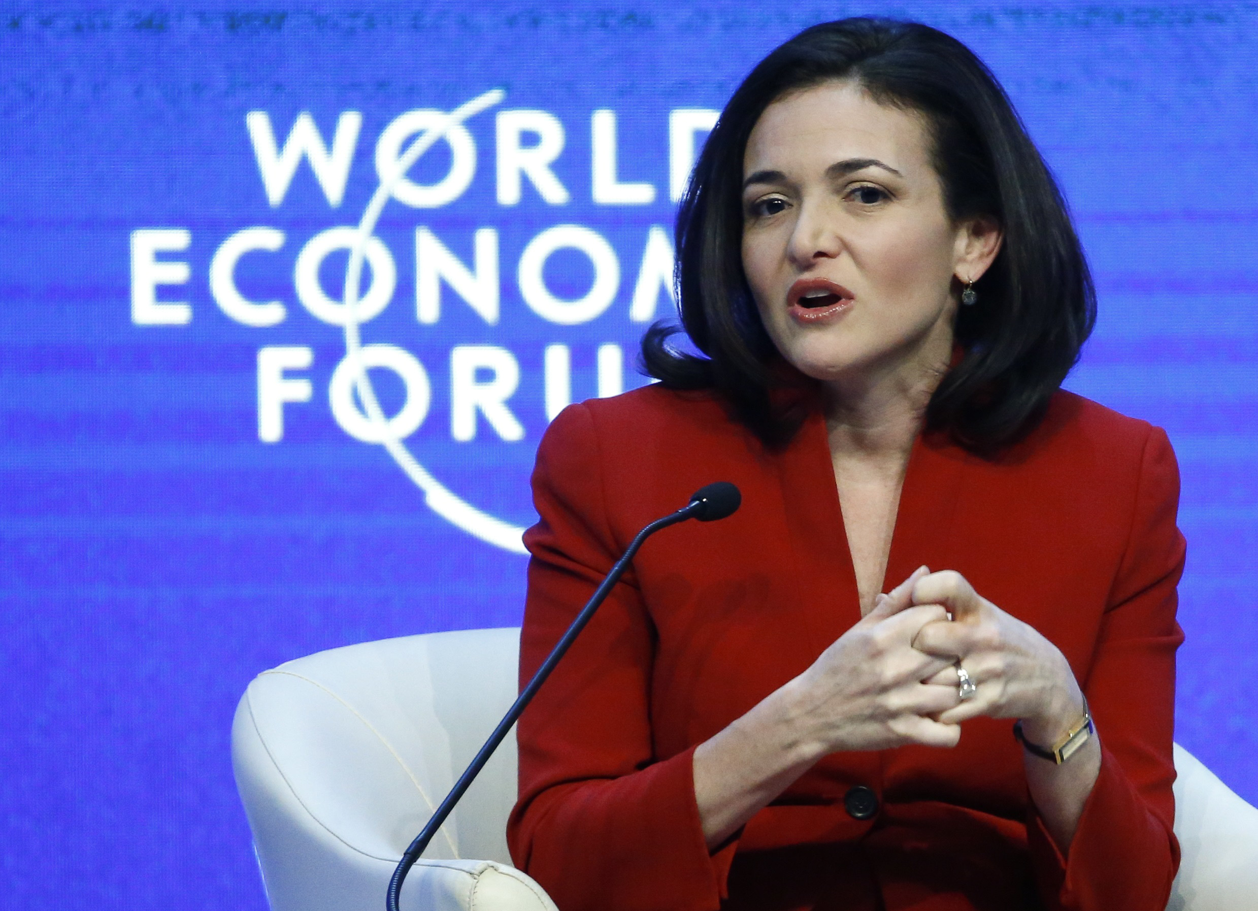 COO of Facebook Sheryl Sandberg