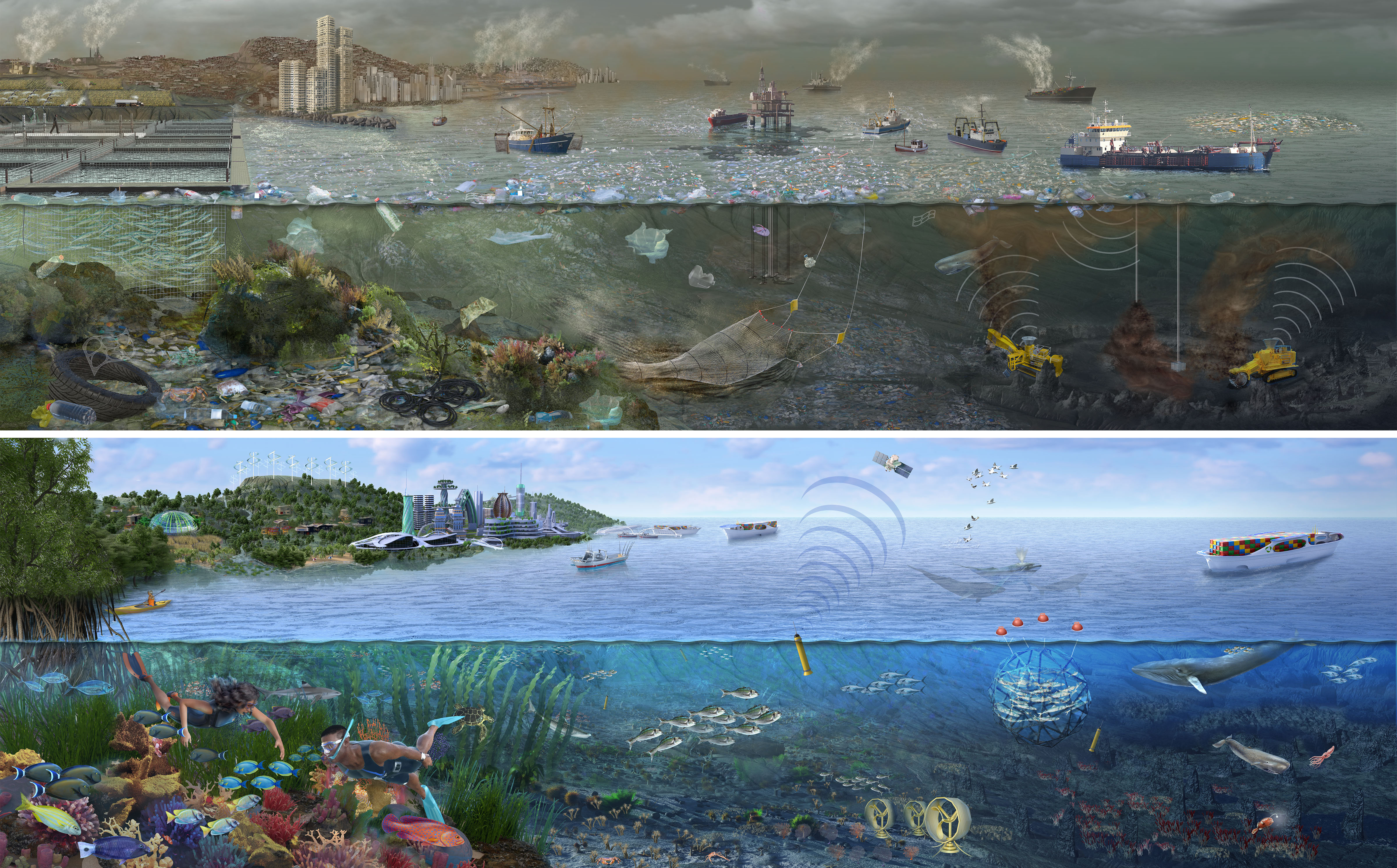 Two visions of the ocean's future. Which will we choose?