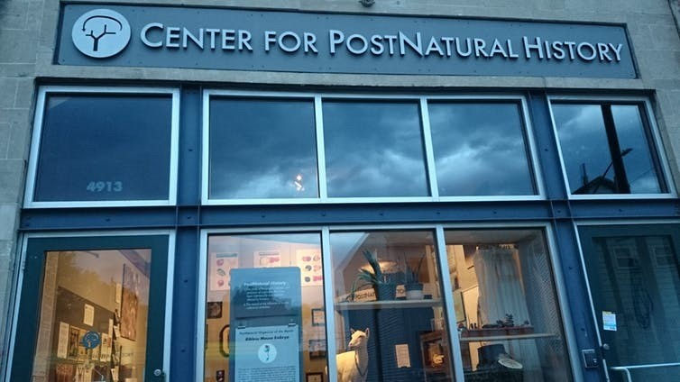 The Center for PostNatural History in Pittsburgh, USA.