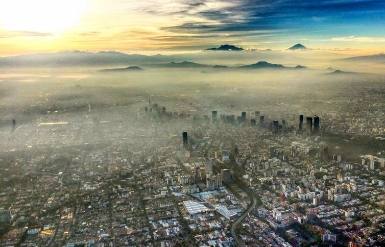 Around 300 million children live in areas, such as Mexico City, where outdoor air pollution exceeds international guidelines by at least six times.