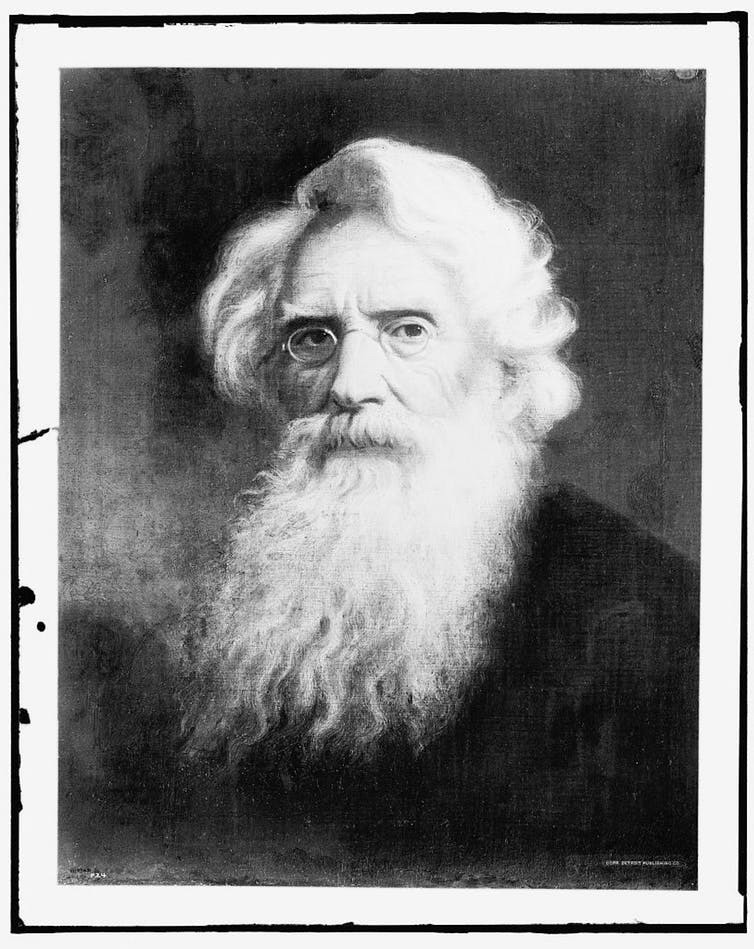 Samuel F.B. Morse.