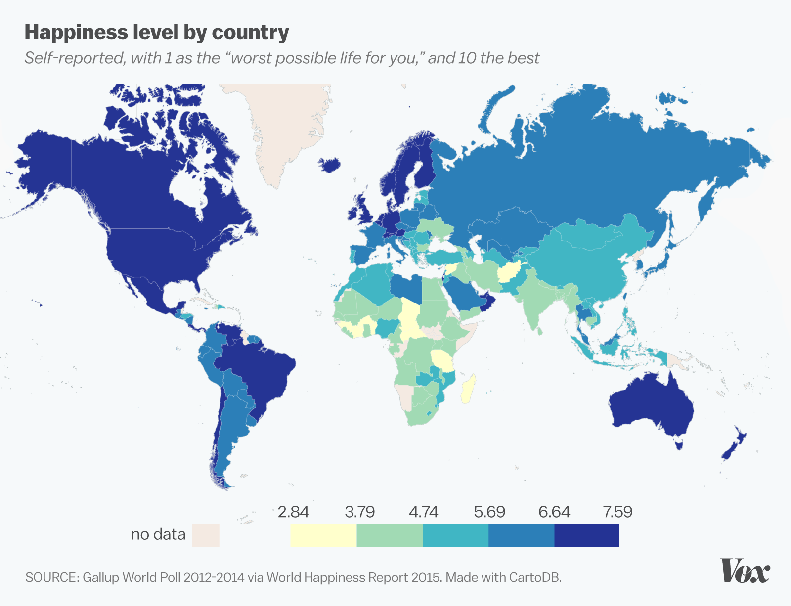 World happiness report 2015