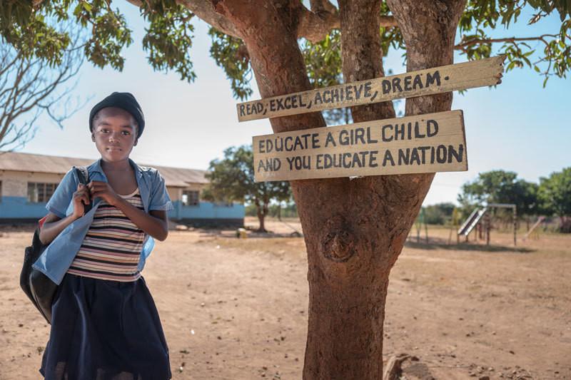 Elementary student, Solwezi Distict, Zambia