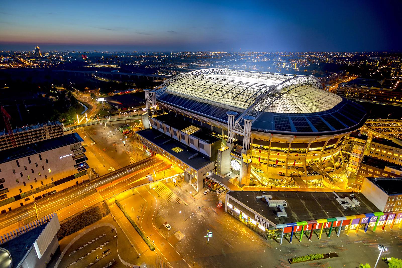Johan Cruijff Arena à Amsterdam.