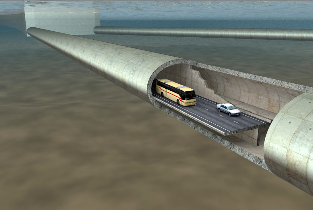 Norway could build the world's first floating tunnel | World