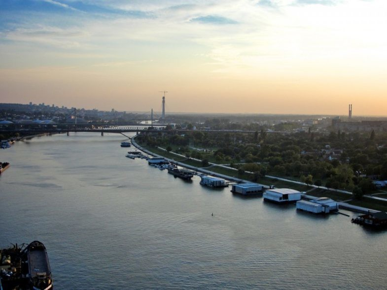 Belgrade, capitale de la Serbie.