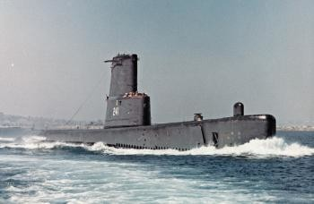 The submarine Walsh commanded from 1968to 1969, the USS Bashaw.