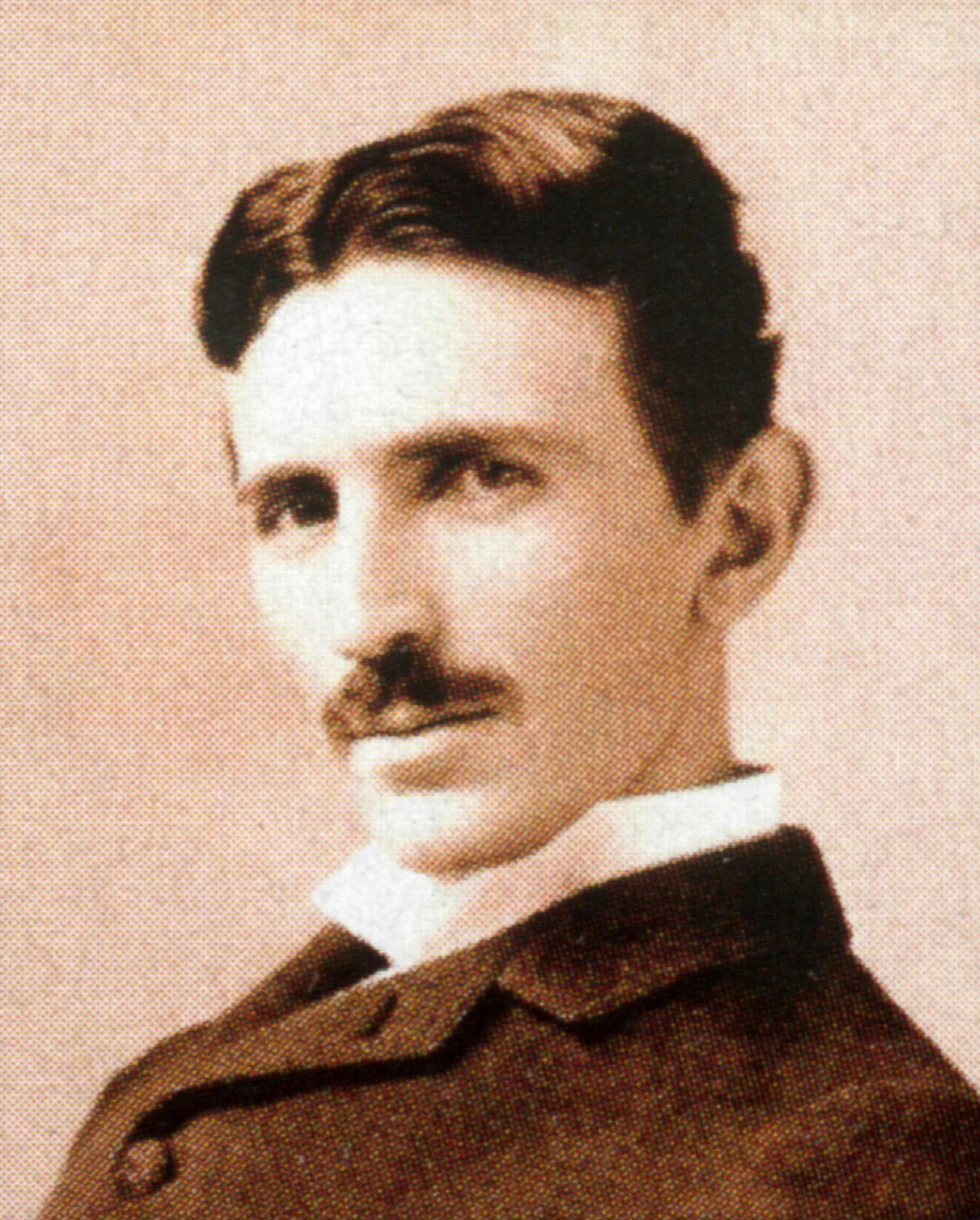Nikola Tesla circa 1890