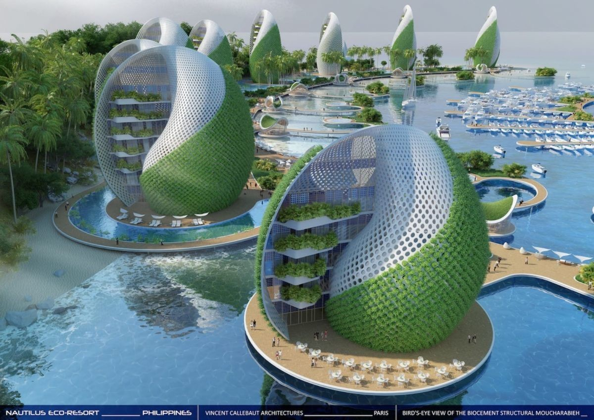 Future Architecture Ideas These futuristic build...